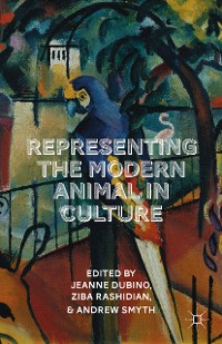 Cover Representing the Modern Animal in Culture