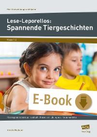 Cover Lese-Leporellos: Spannende Tiergeschichten Kl. 1/2