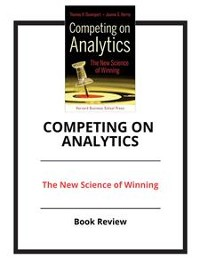 Cover Competing On Analytics
