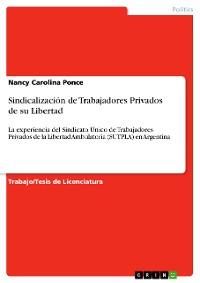Cover Sindicalización de Trabajadores Privados de su Libertad
