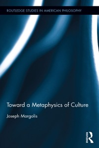 Cover Toward a Metaphysics of Culture