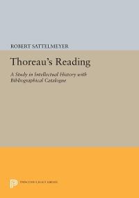 Cover Thoreau's Reading