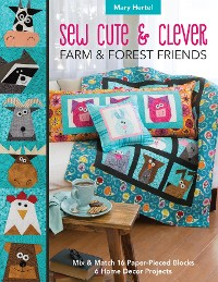 Cover Sew Cute & Clever Farm & Forest Friends