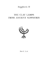 Cover Sepphoris II