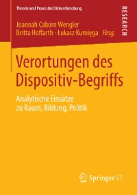 Cover Verortungen des Dispositiv-Begriffs