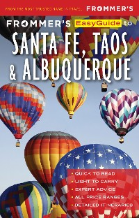 Cover Frommer's EasyGuide to Santa Fe, Taos and Albuquerque