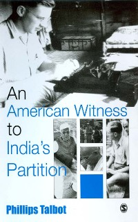 Cover An American Witness To India's Partition