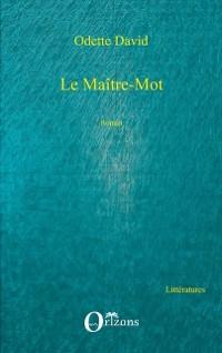 Cover LE MAITRE-MOT