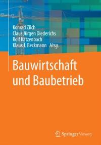 Cover Bauwirtschaft und Baubetrieb