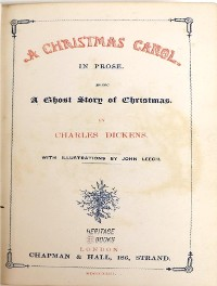 Cover A Christmas Carol in Prose