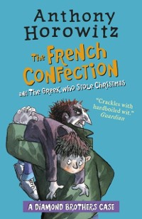 Cover Diamond Brothers in The French Confection & The Greek Who Stole Christmas