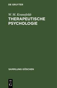 Cover Therapeutische Psychologie