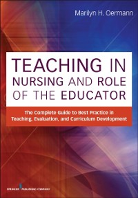 Cover Teaching in Nursing and Role of the Educator