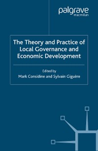 Cover The Theory and Practice of Local Governance and Economic Development