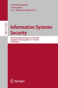 Cover Information Systems Security