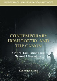 Cover Contemporary Irish Poetry and the Canon