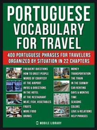 Cover Portuguese Vocabulary for Travel