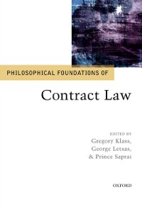 Cover Philosophical Foundations of Contract Law