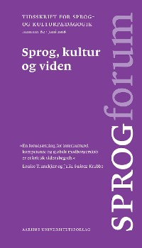 Cover Sprog, kultur og viden
