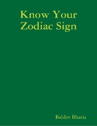 Cover Know Your Zodiac Sign