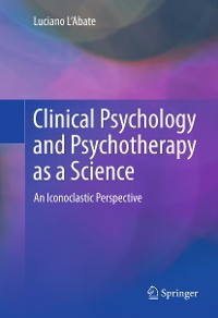 Cover Clinical Psychology and Psychotherapy as a Science