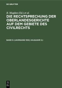 Cover (Jahrgang 1902, Halbjahr 2.)
