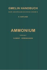 Cover Ammonium