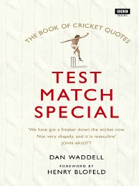 Cover The Test Match Special Book of Cricket Quotes
