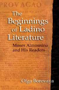 Cover The Beginnings of Ladino Literature