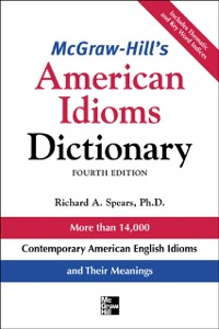 Cover McGraw-Hill's Dictionary of American Idioms Dictionary