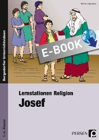 Cover Lernstationen Religion: Josef