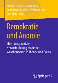 Cover Demokratie und Anomie