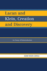 Cover Lacan and Klein, Creation and Discovery