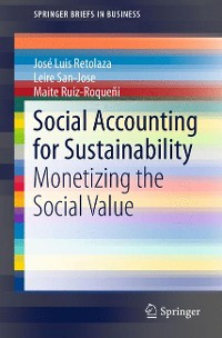 Cover Social Accounting for Sustainability