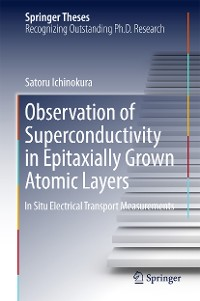 Cover Observation of Superconductivity in Epitaxially Grown Atomic Layers