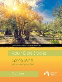 Cover Adult Bible Studies Spring 2018 Teacher