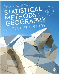 Cover Statistical Methods for Geography