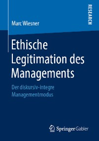 Cover Ethische Legitimation des Managements