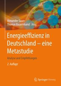 Cover Energieeffizienz in Deutschland - eine Metastudie