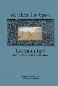 Cover Rabbi Abraham Ibn Ezra's Commentary on the Second Book of Psalms