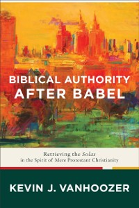 Cover Biblical Authority after Babel
