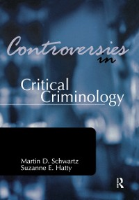 Cover Controversies in Critical Criminology