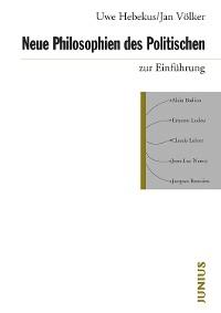 Cover Neue Philosophien des Politischen zur Einführung