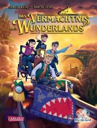 Cover Das Vermächtnis des Wunderlands (Abenteuer Miniatur Wunderland 1)
