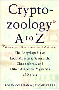 Cover Cryptozoology A To Z