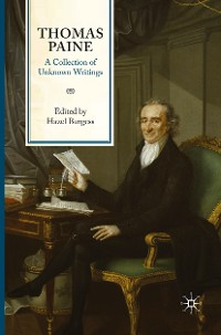 Cover Thomas Paine: A Collection of Unknown Writings