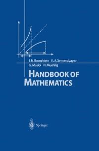 Cover Handbook of Mathematics