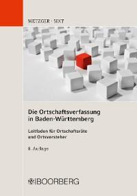 Cover Die Ortschaftsverfassung in Baden-Württemberg