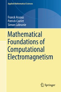 Cover Mathematical Foundations of Computational Electromagnetism