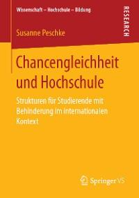 Cover Chancengleichheit und Hochschule